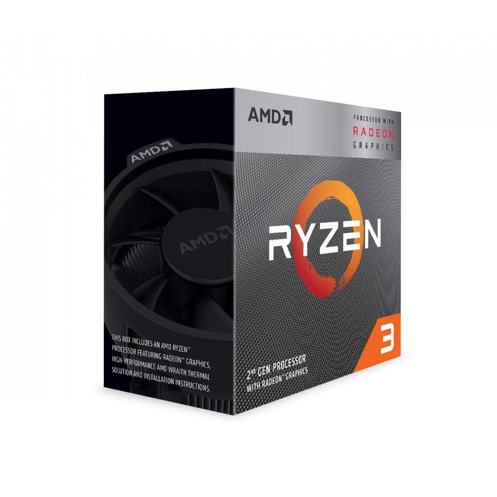 AMD Ryzen 3 3200G with Radeon Vega 8 Graphics Processor (CPU)