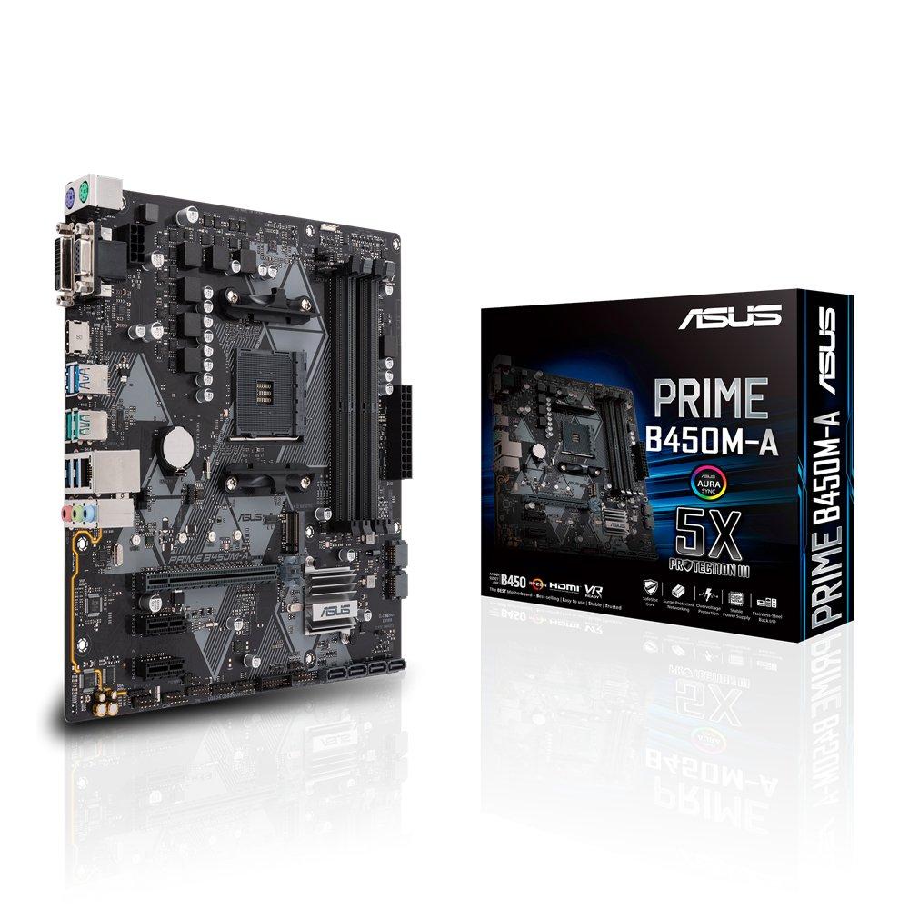 ASUS B450M A PRIME Motherboard