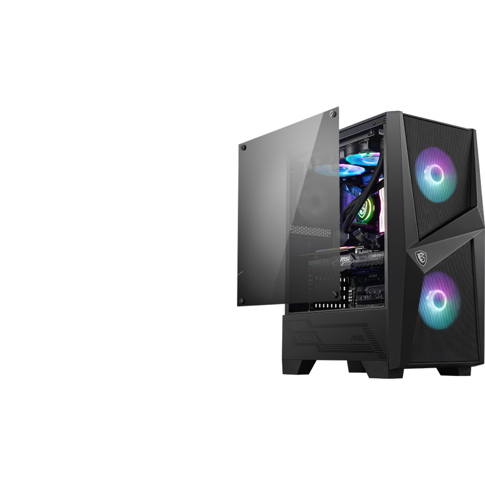 MSI MAG FORGE 100R Case