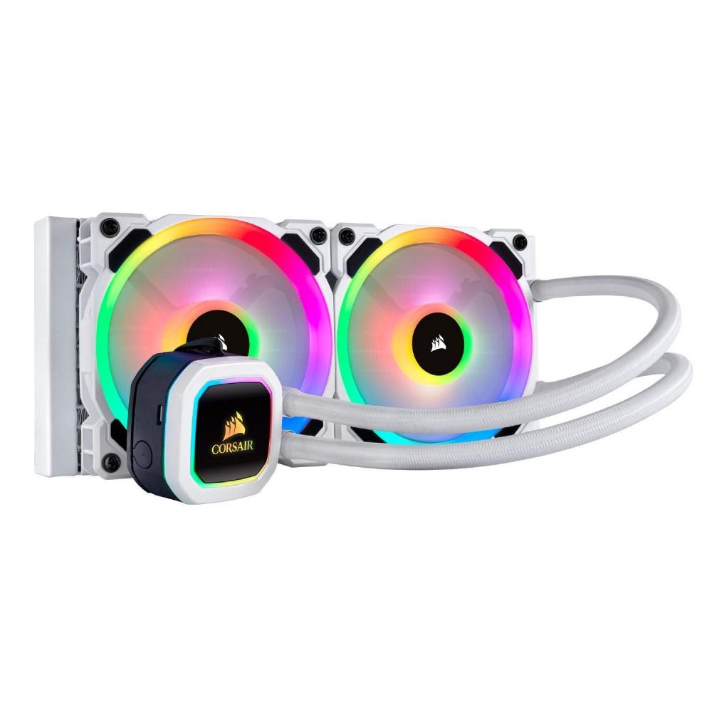 Corsair H100i PLATINUM SE WHITE RGB LIQUID CPU Cooler