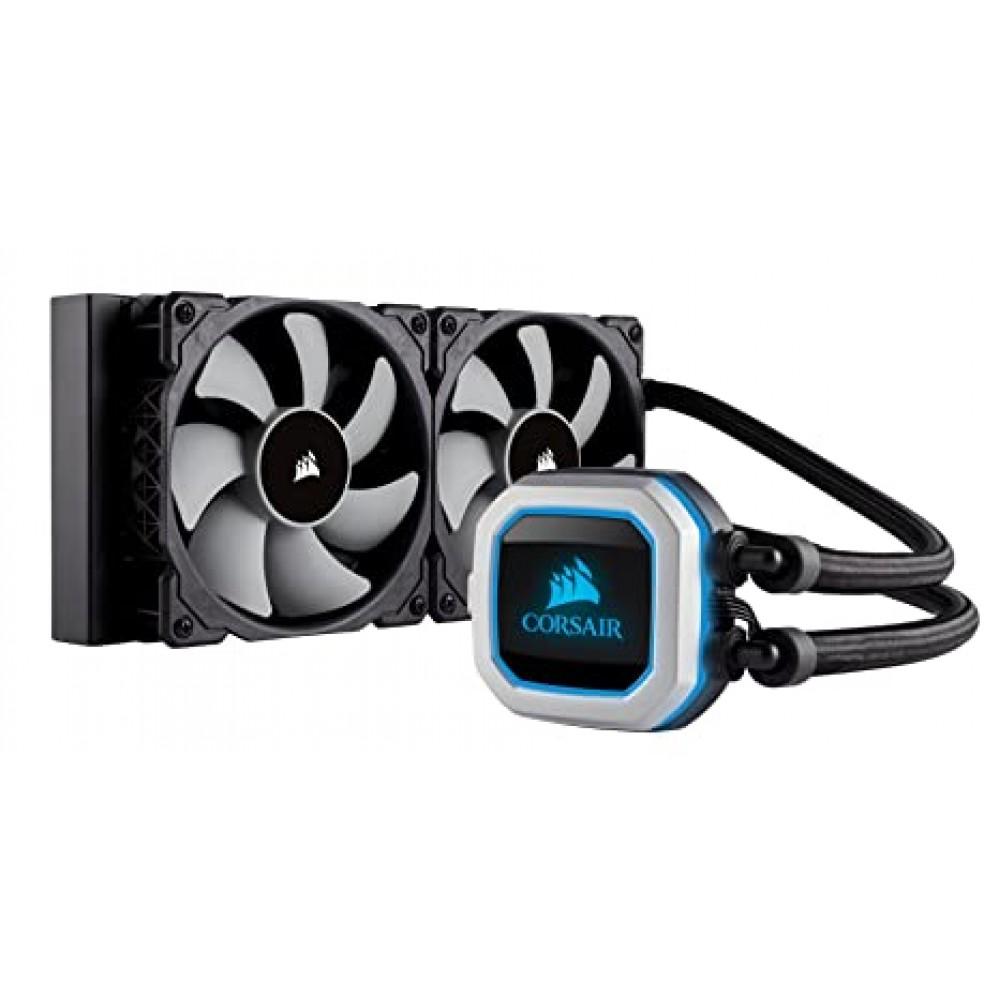 Corsair H100i PRO RGB LIQUID CPU Cooler