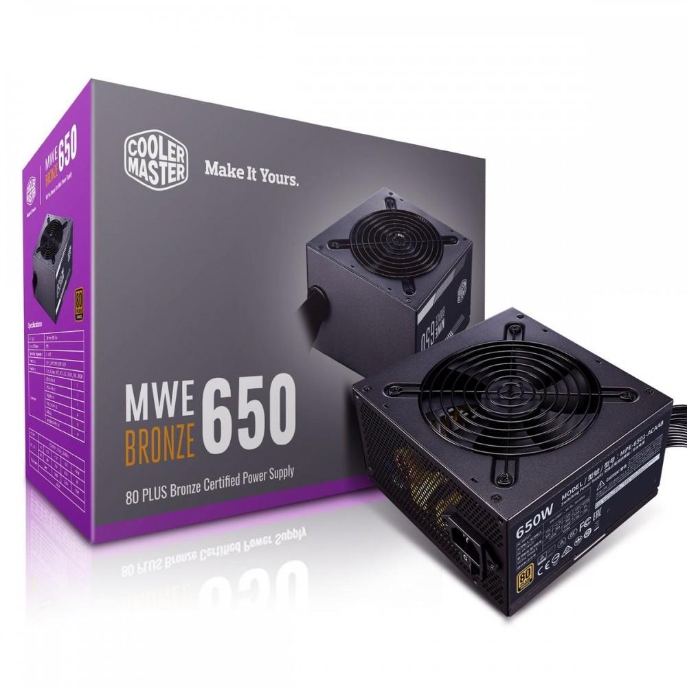 Cooler Master MWE 650 BRONZE - V2 Power Supplies