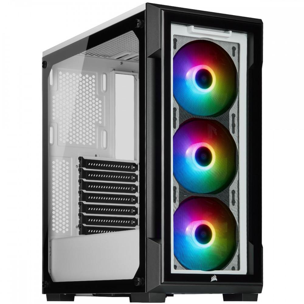 Corsair CABINET COMPONENT 220T, ICUE RGB WHT CC-9011191-WW Case