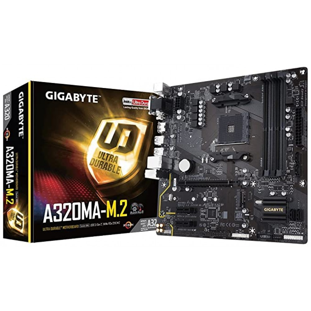 GigaByte A320MA-M.2 Motherboard