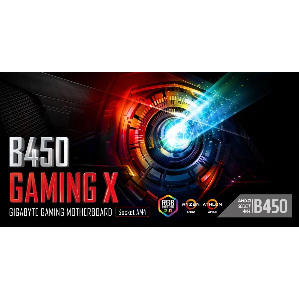 GigaByte B450 GAMING X Motherboard