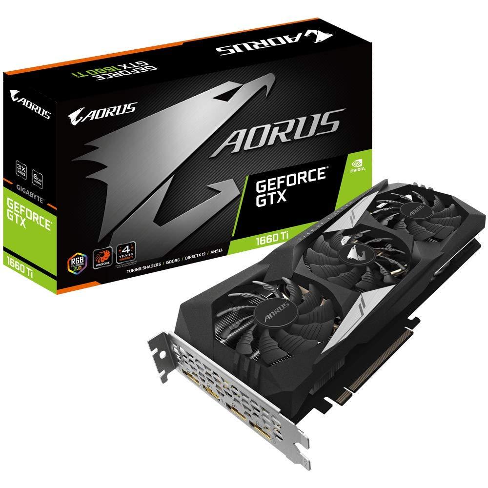 GigaByte  AORUS GeForce GTX 1660 Ti 6G Graphic Card