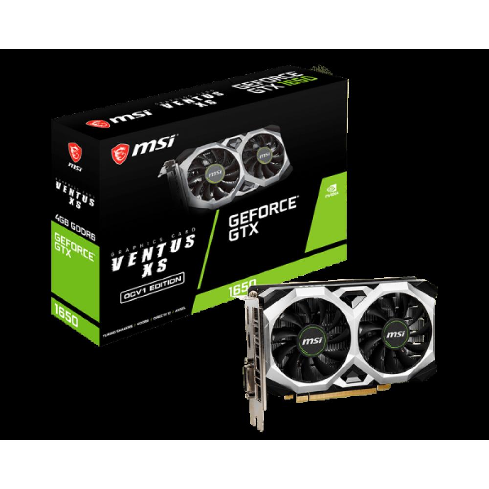 MSI GeForce GTX 1650 D6 VENTUS XS OCV1 Graphic Card