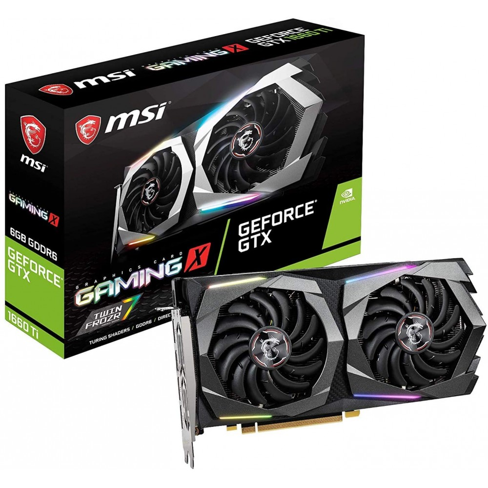 MSI GeForce GTX 1660Ti Gaming X 6G Graphic Card