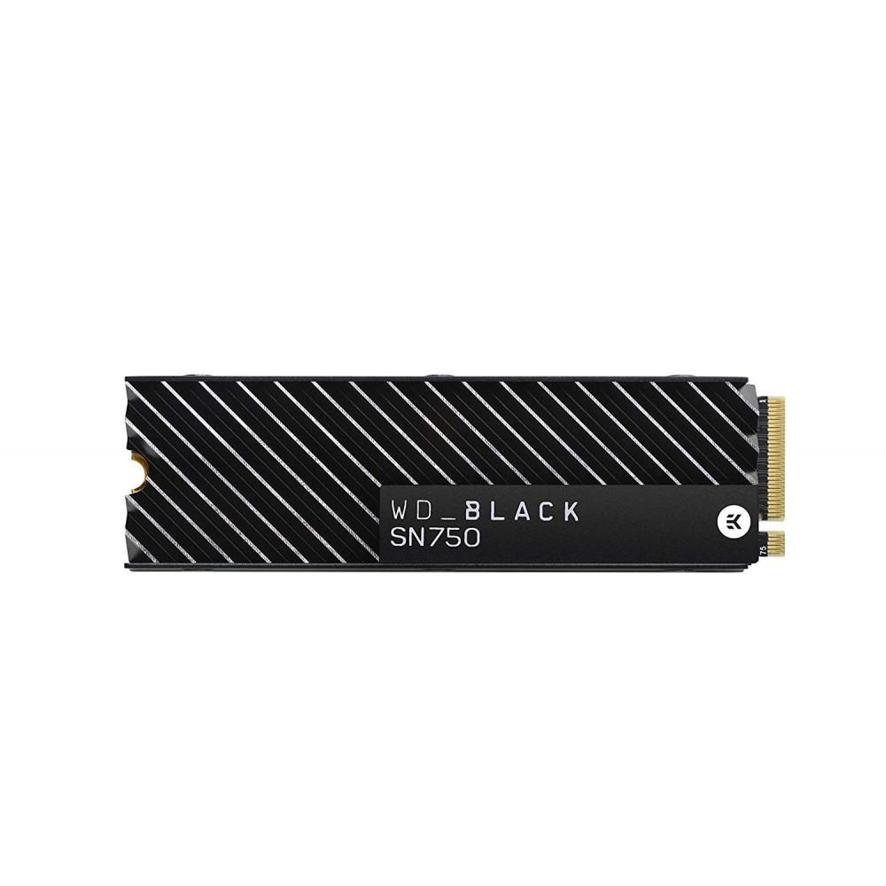 Western Digital SN750 NVMe With Heatsink WDS500G3xHc 500GB  Hard Disk