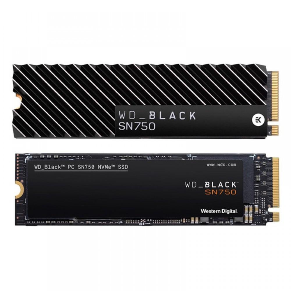 Western Digital SN750 NVMe Without Heatsink WDS250G3x0c 250GB Hard Disk
