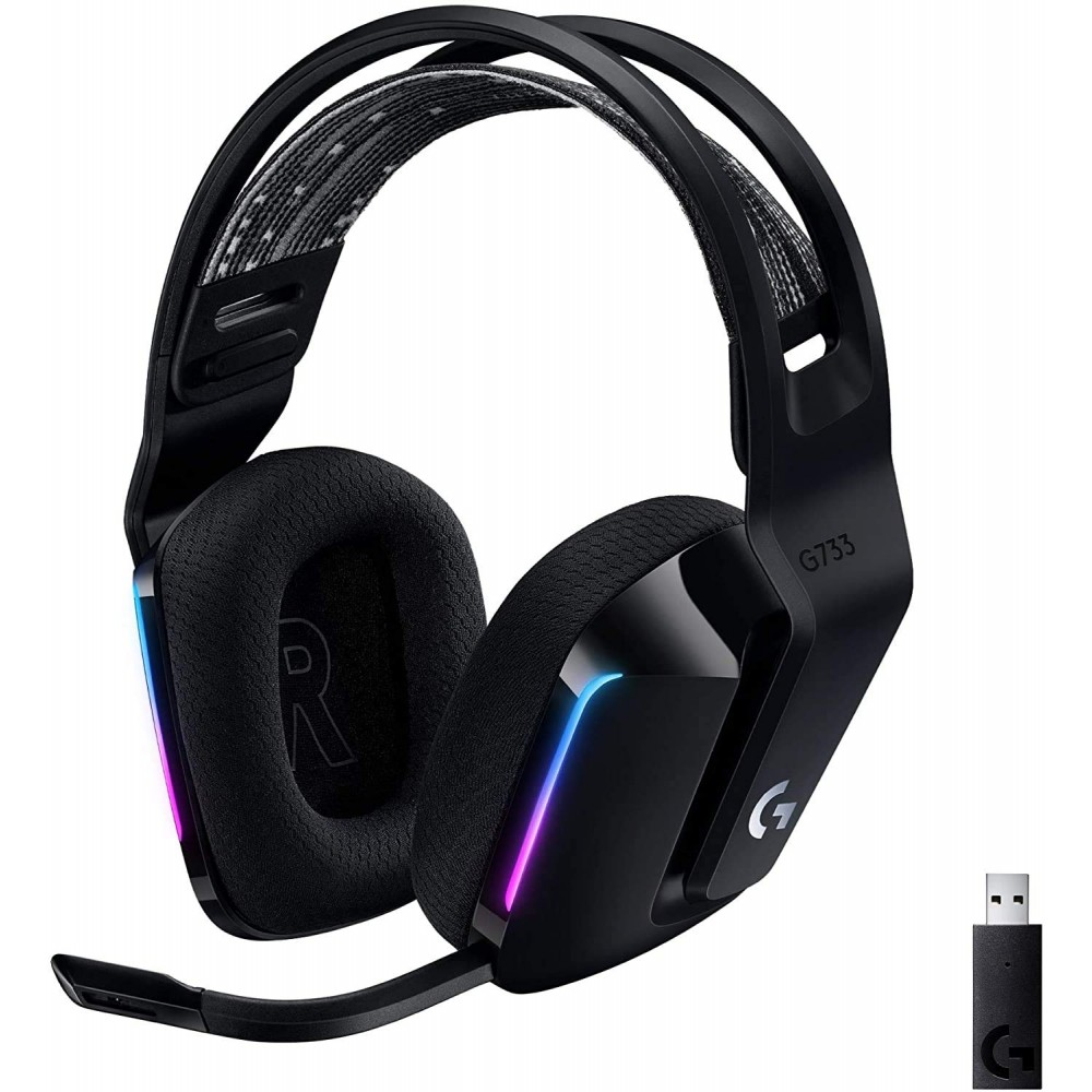 Logitech G733 LIGHTSPEED Wireless RGB Head Phone