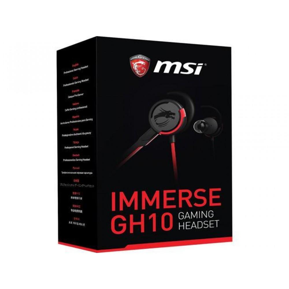 MSI IMMERSE GH10 Head Phone