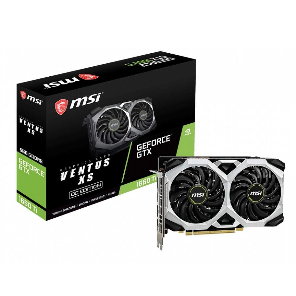 MSI GeForce GTX 1660Ti Ventus XS 6G OC Graphic Card