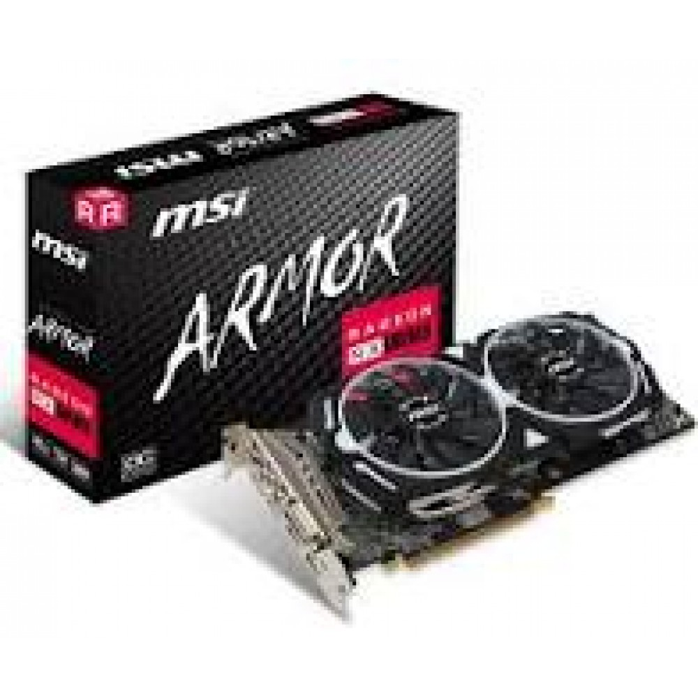 MSI Radeon RX 580 ARMOR 8G OC Graphic Card