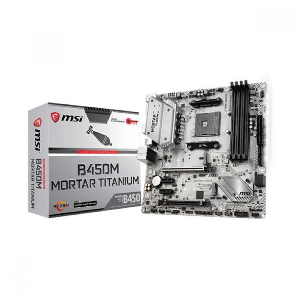 MSI B450M MORTAR TITANIUM Motherboard