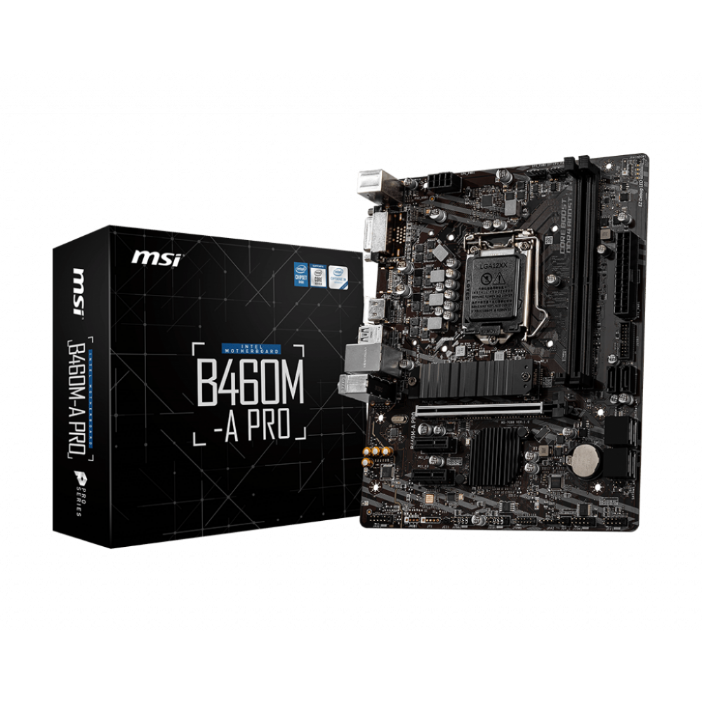 MSI B460M A PRO Motherboard