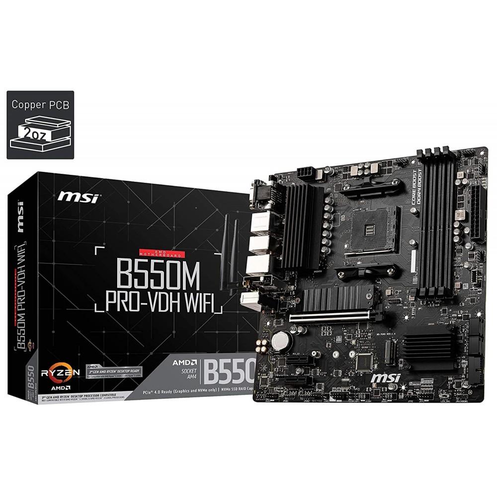 MSI B550M PRO-VDH WIFI Motherboard