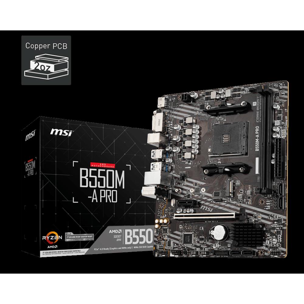 MSI B550M-A PRO Motherboard