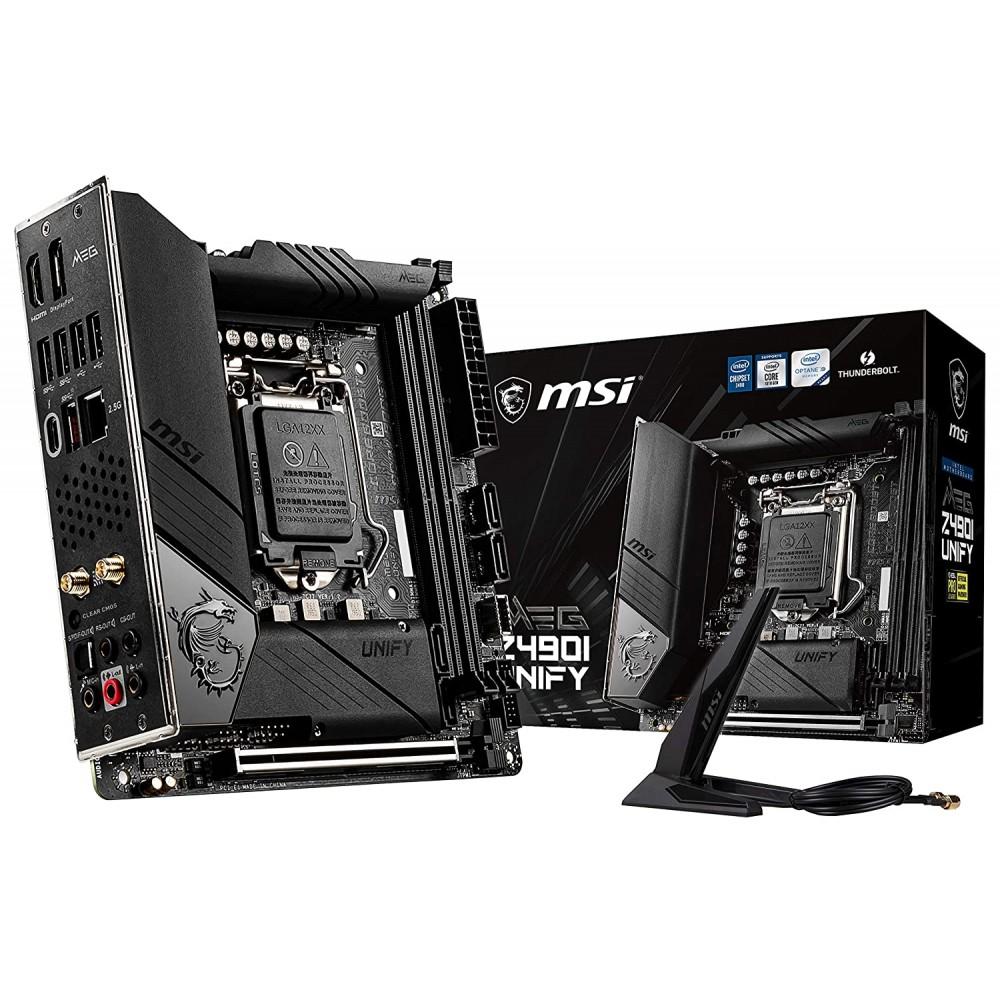 MSI MEG Z490I UNIFY Motherboard