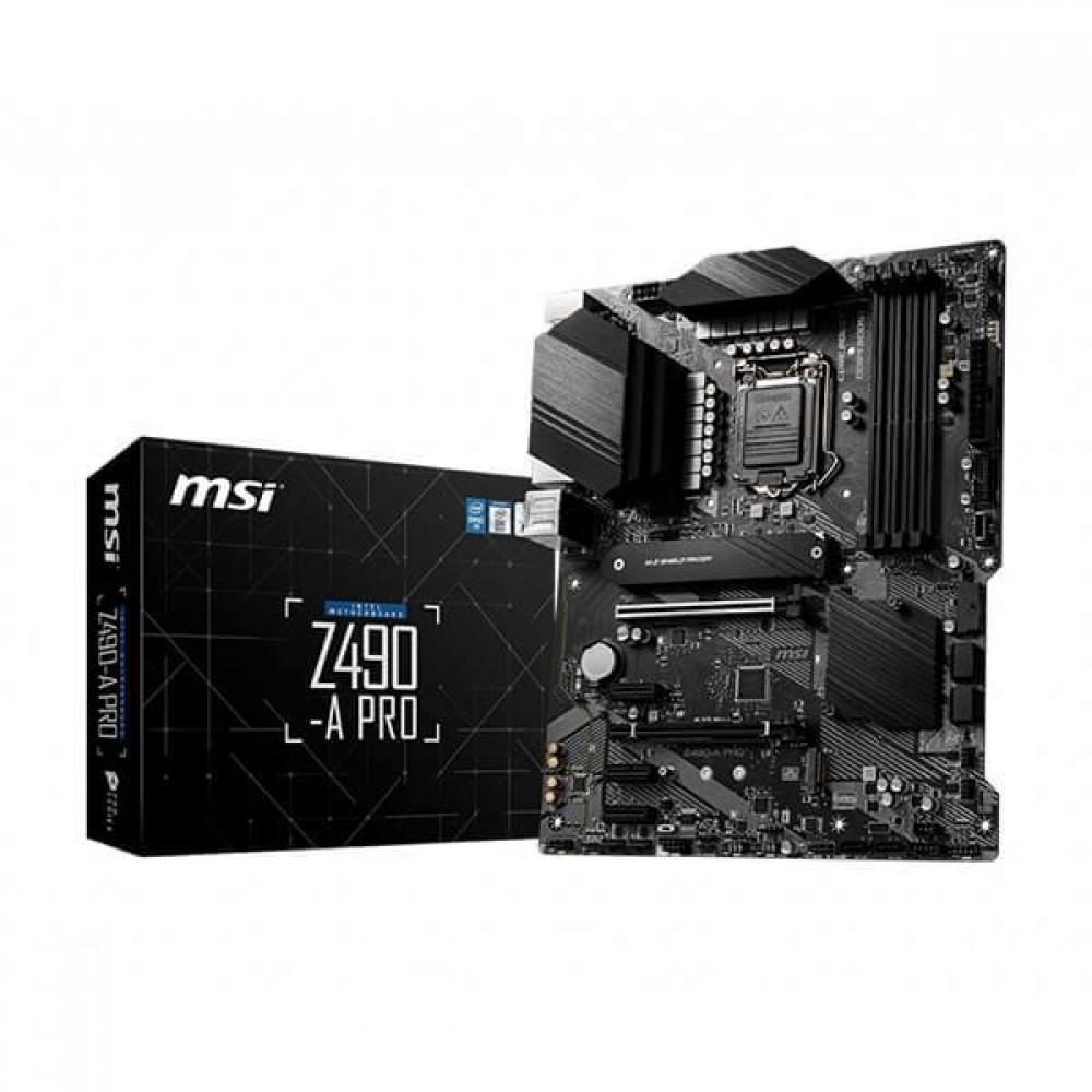 MSI Z490-A PRO Motherboard