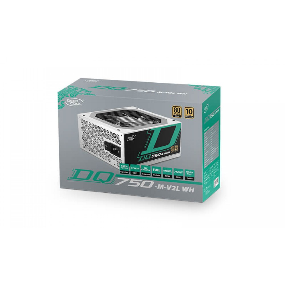 Deepcool DQ750-M V2 WH Power Supplies