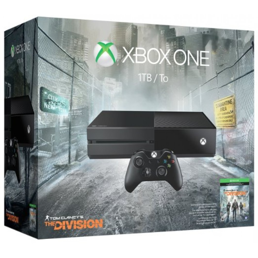 Microsoft Console (1TB) With Tom Clancy'S The Division Xbox