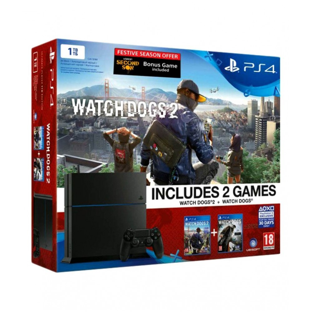 Sony  PS4 1TB Console– Ultimate Player Edition (3 Games) Playstation