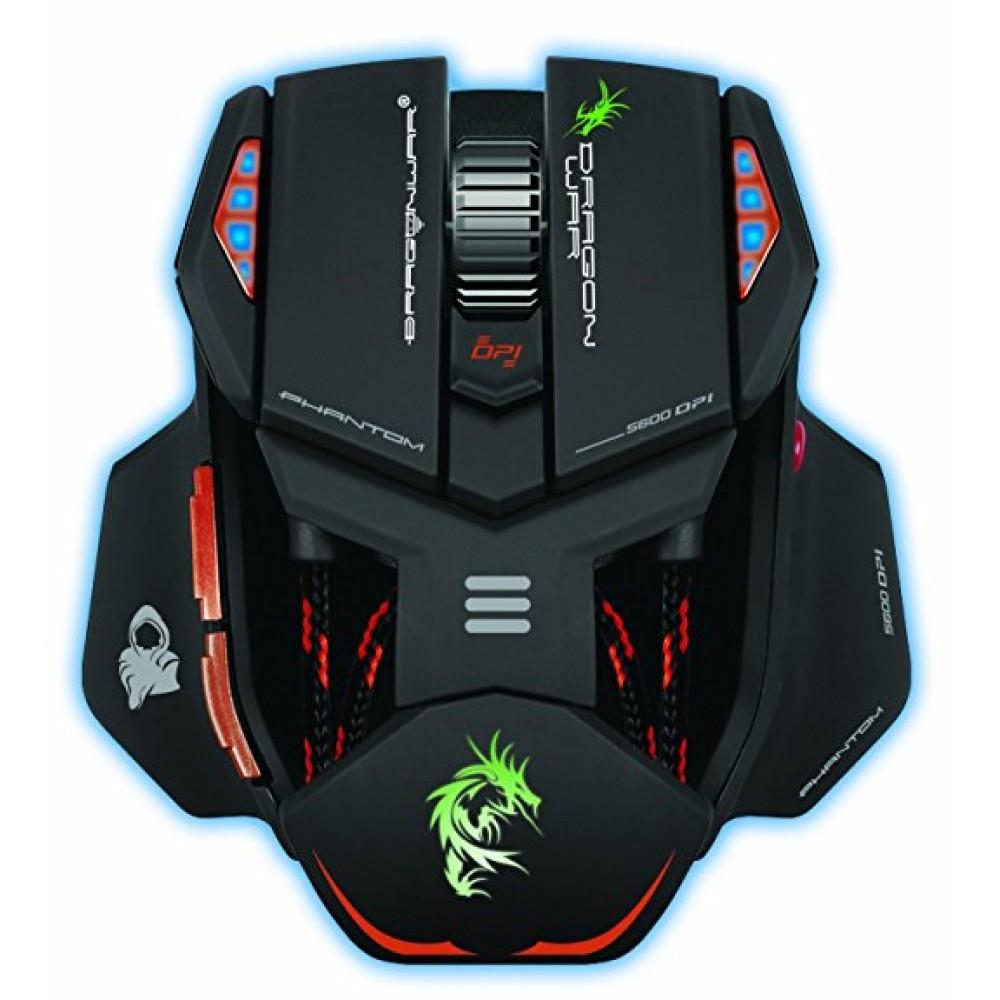 Dragon War Phantom USB Laser Mouse