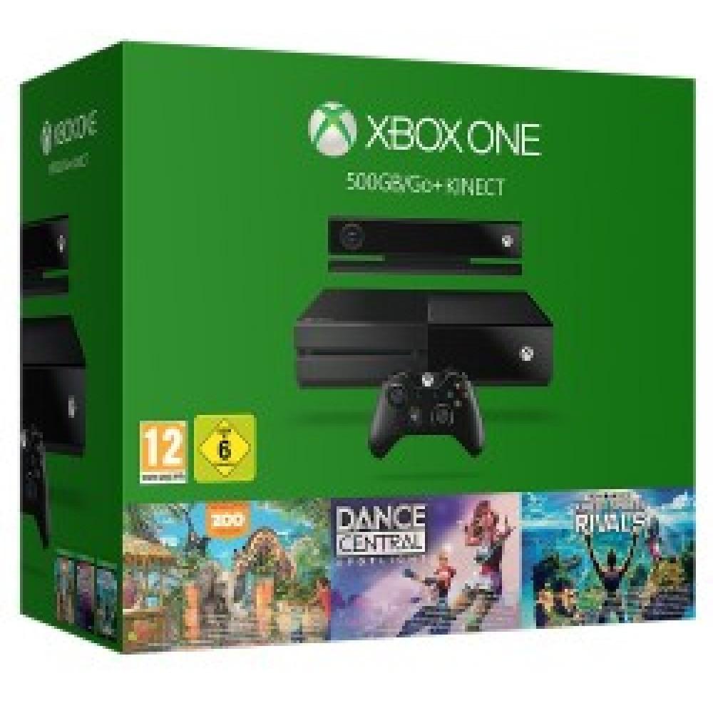 Microsoft 500GB Console Fan Bundle Xbox